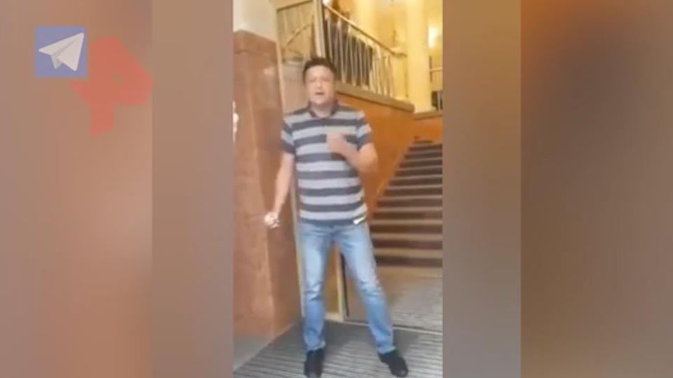 Угрожавшего взорвать гранату в здании кабмина Украины задержали