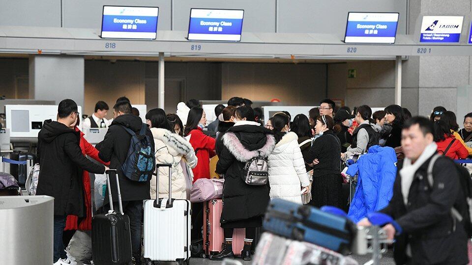 Число заражений коронавирусом за пределами Китая превысило 100 тысяч