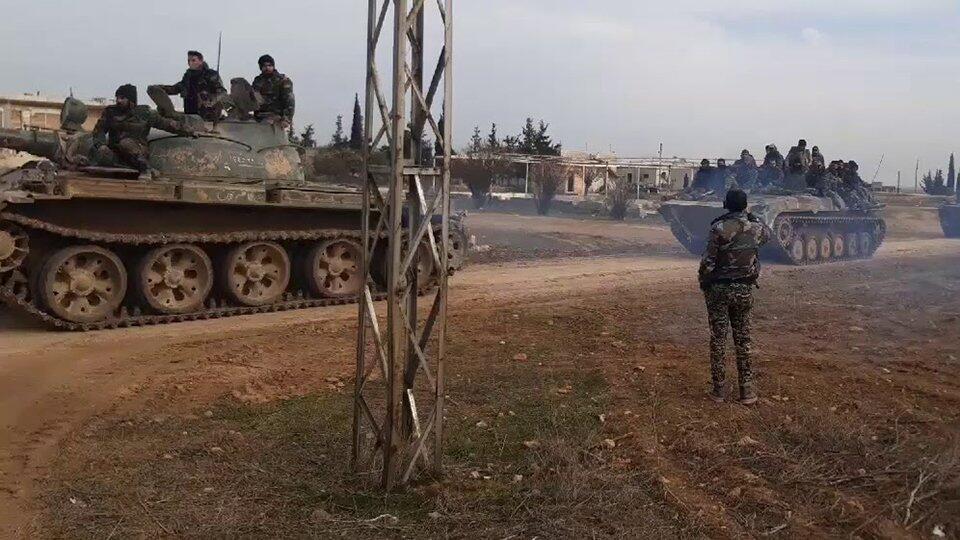 Сирийская армия оставила позиции в Идлибской зоне из-за атаки боевиков