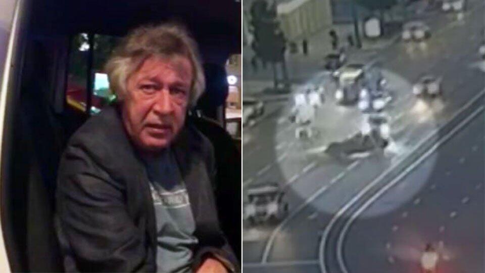 """Свидетель в суде рассказал о """"лохматом"""" пассажире в машине Ефремова"""