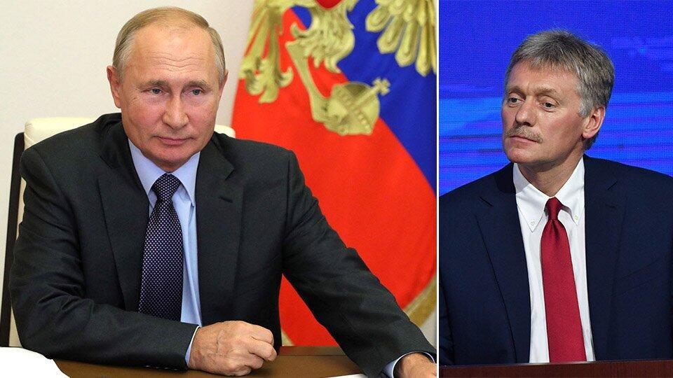 В Кремле отреагировали на выдвижение Путина на Нобелевскую премию