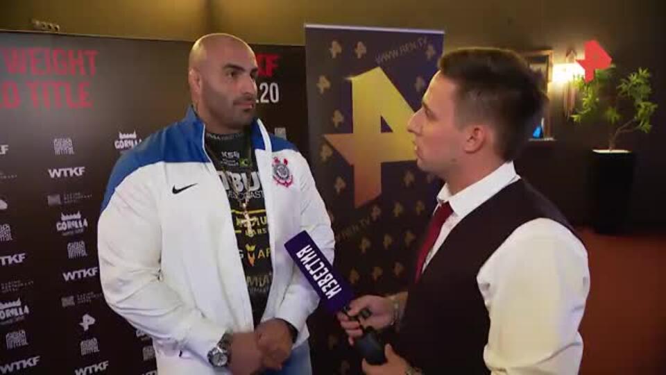 Я его фанат: Родригес заявил, что Харитонов - самый лучший соперник