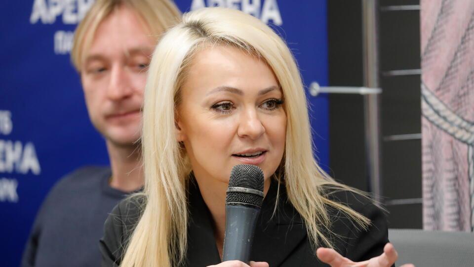 """""""Слышали звон"""": Рудковская ответила хейтерам Плющенко"""