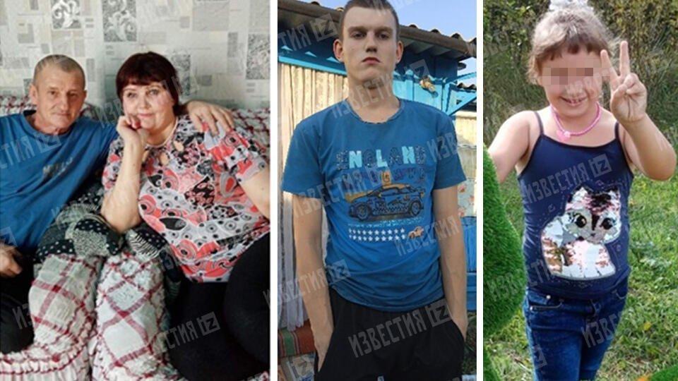 Фото семьи, убитой уголовником в Хакасии