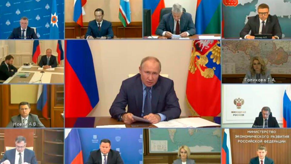 Путин отметил остроту проблемы жары и лесных пожаров в России