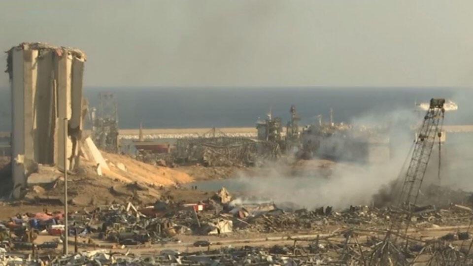В Ливане оценили ущерб от мощнейшего взрыва в Бейруте