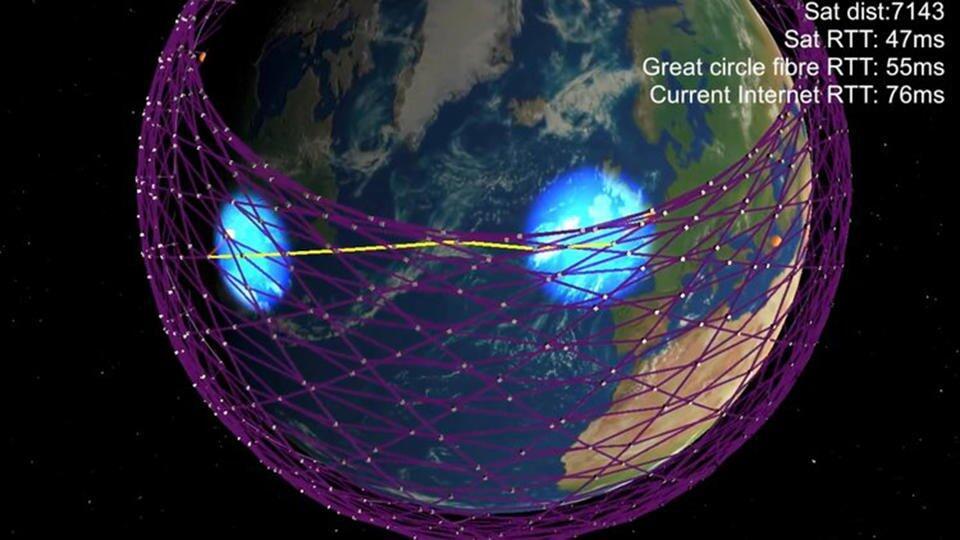 Российские ученые пожалуются в ООН на тысячи спутников Илона Маска
