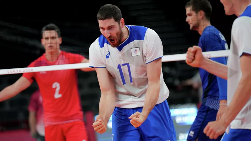 Мужская сборная России по волейболу вышла в полуфинал Олимпиады