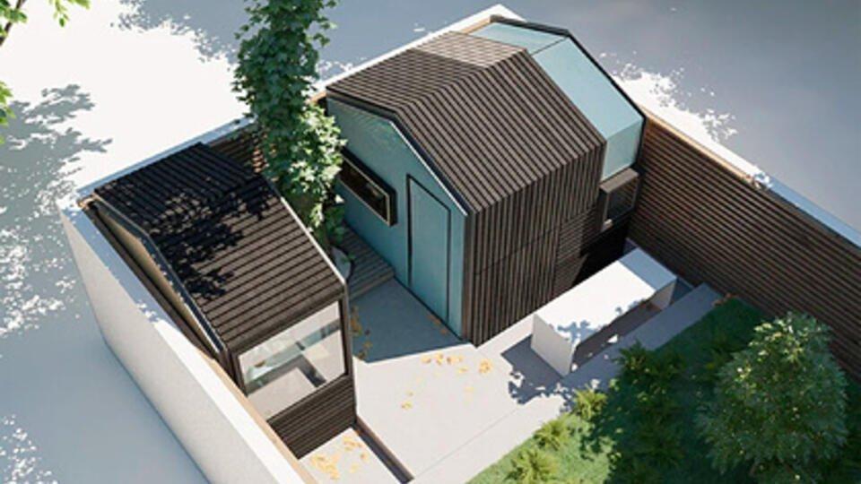 Британцы решили строить дома для удаленки в стиле Minecraft