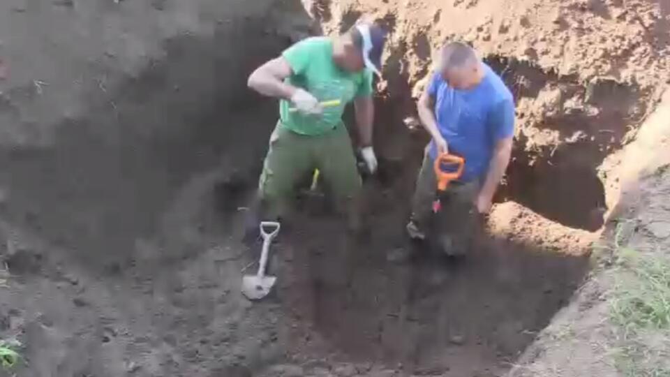 Огромную братскую могилу времен войны нашли в Тульской области