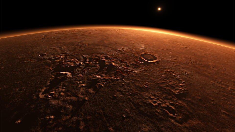 Дома на Марсе предложили строить из крови, пота и слез космонавтов