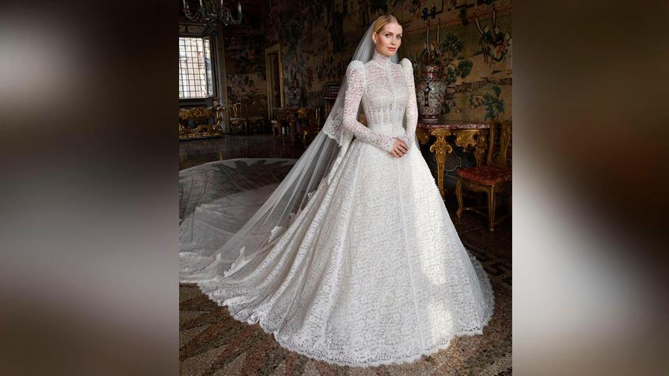 Появились фото роскошного свадебного платья племянницы принцессы Дианы