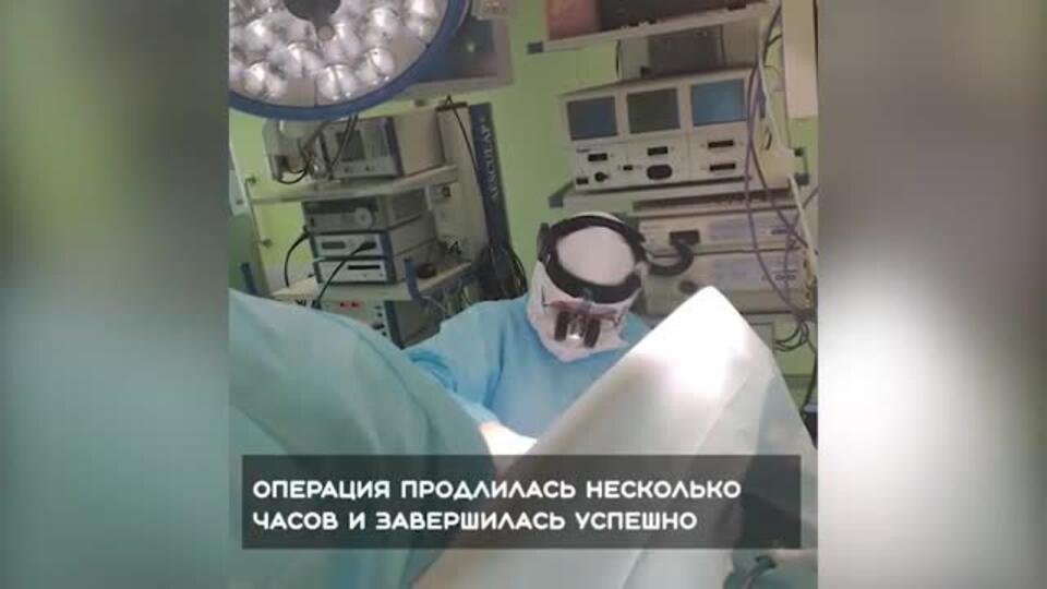 В Петербурге провели экстренную операцию больному с коронавирусом