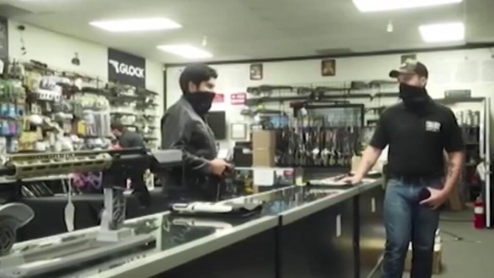 Борьба с оружием: американцы скупают винтовки после заявлений Байдена