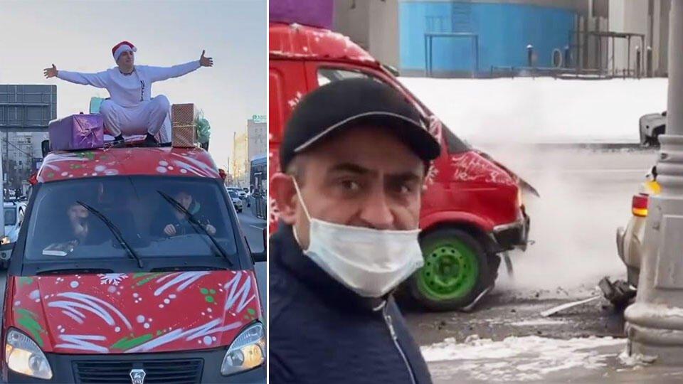 "Блогер Литвин ради ""хайпа"" устроил ДТП и уничтожил автомобиль таксиста"
