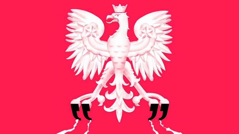 """Польская """"жертва"""" заливает соседей кровью"""