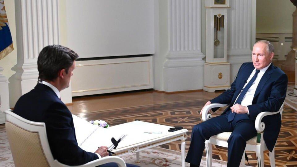 Путин назвал словесным несварением обвинения в свой адрес в убийствах