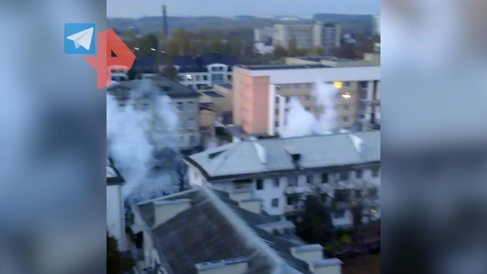 Очевидцы сообщили о взрывах звукошумовых гранат в Минске