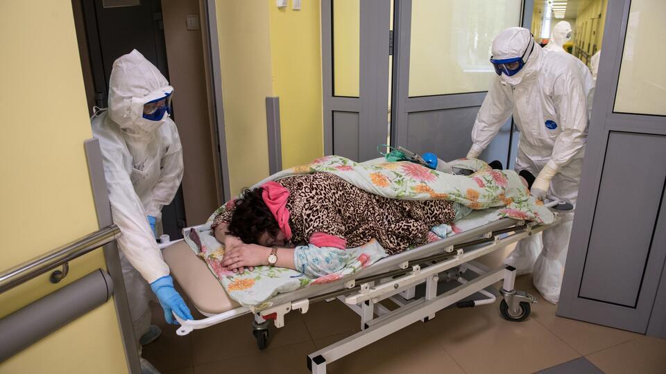 В Чите развернули полевой госпиталь