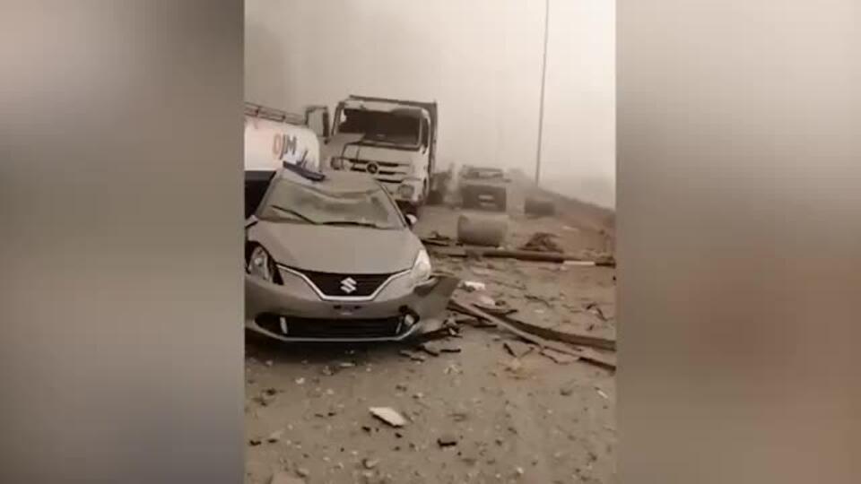 Разрушены дома: видео последствий двух мощнейших взрывов в Бейруте