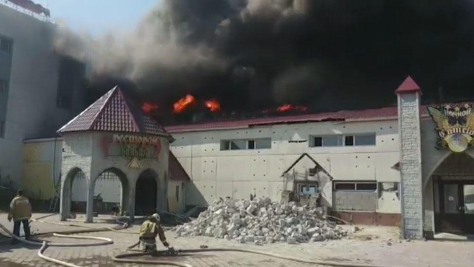 Названа причина пожара на площади 2,4 тысячи кв. метров в ХМАО