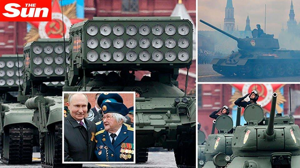 Западные СМИ отреагировали на речь Путина на параде Победы в Москве
