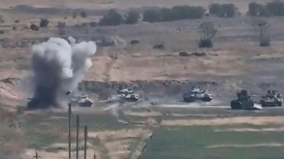 В армии Карабаха заявили, что зафиксировалиприменение турецкого F-16