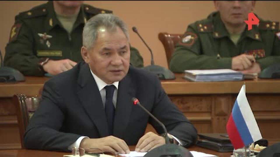 Шойгу обсудил с главой МО Армении режим прекращения огня в Карабахе