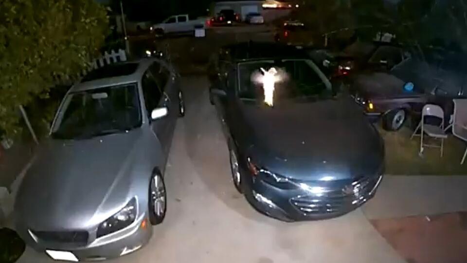 """В Сети разглядели """"настоящую фею Динь-Динь"""" на видео с уличной камеры"""