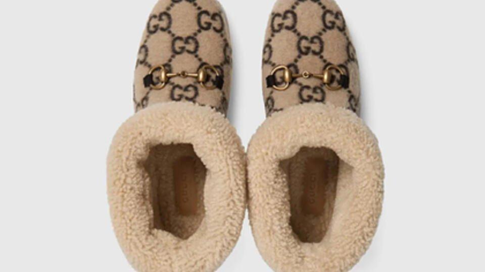 Тапки за 50 тысяч: Gucci выпустил новую обувь