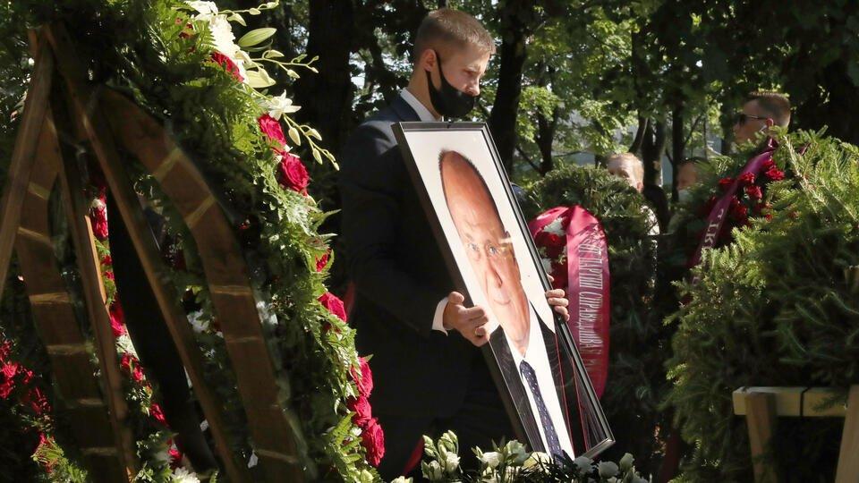 Владимира Меньшова похоронили на Новодевичьем кладбище