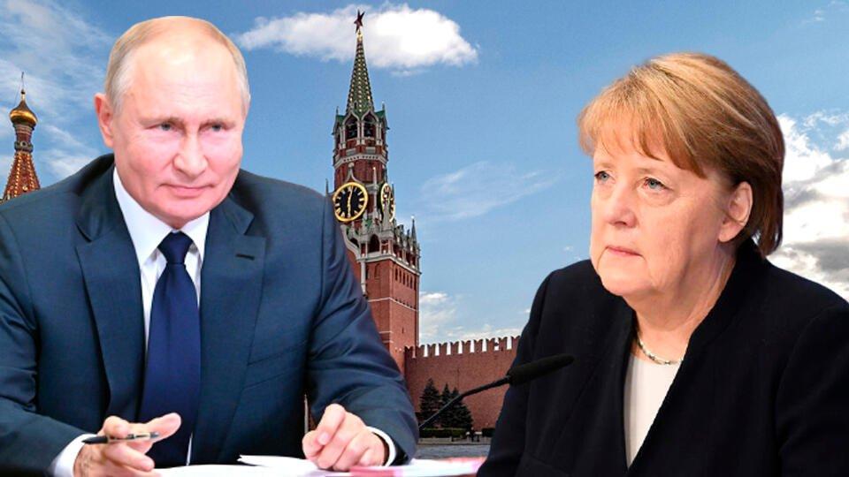 Кремль: переговоры Путина и Меркель пройдут в Москве 20 августа