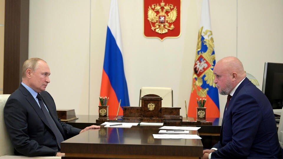 Глава Кузбасса доложил Путину о строительстве больницы в Новокузнецке