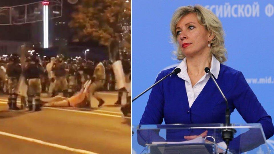 Захарова прокомментировала задержание журналистов РФ в Минске