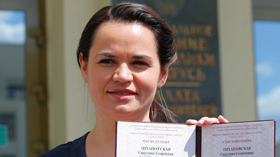 Литва выдала Тихановской визу на год и предоставила место проживания