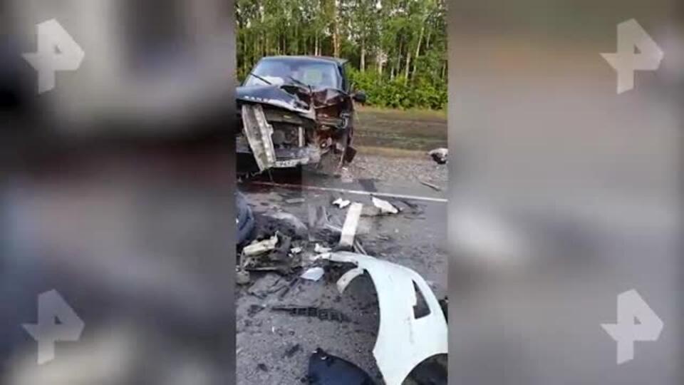 Авария под Тамбовом унесла жизни двоих взрослых и ребенка