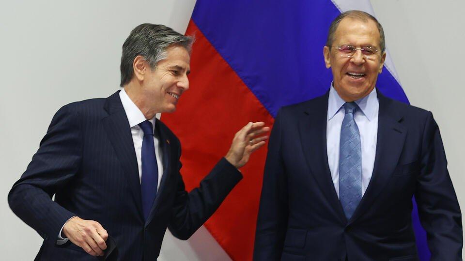 Лавров: Блинкен не смог аргументировать претензии США к России