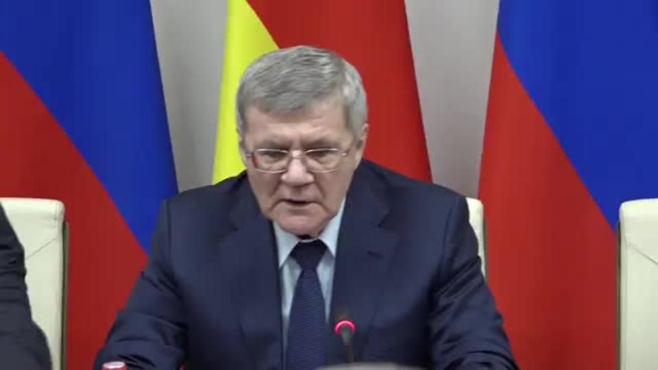 Чайка рассказал о борьбе с коррупцией на Кавказе