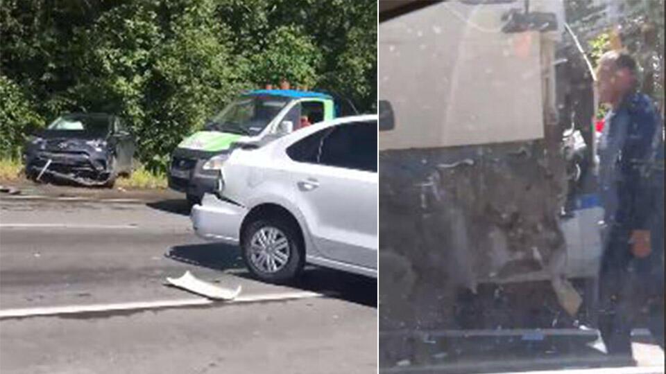 """""""Это жуть"""": массовая авария произошла в Ленобласти"""