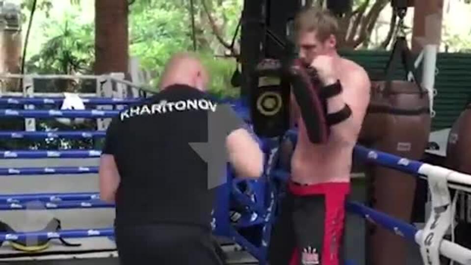 Боец Харитонов набрал вес перед боем против бразильца Родригеса