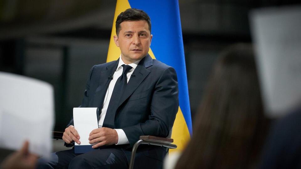 Зеленский пожаловался на Макрона и Меркель