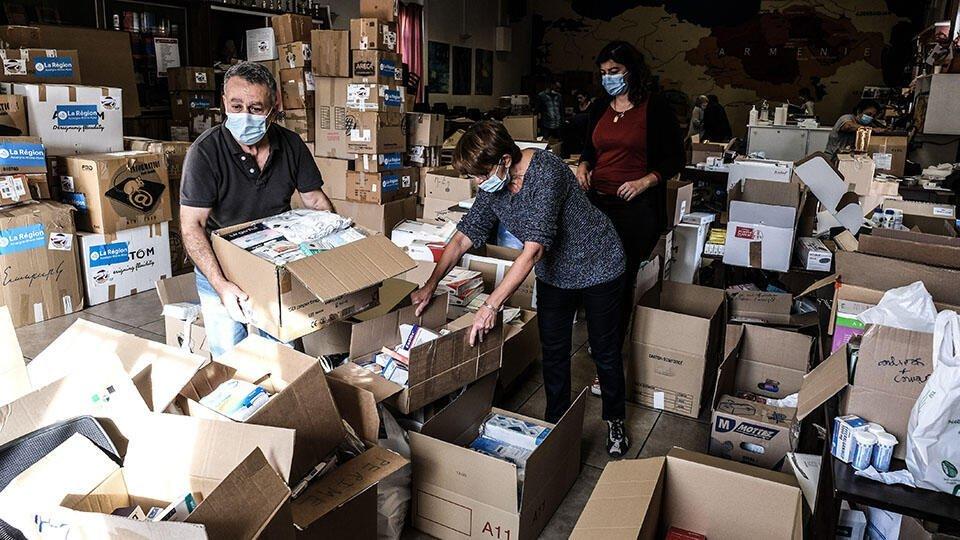 Ереван: Турция заблокировала поставку гуманитарных грузов в Армению