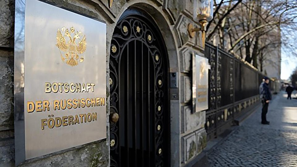 Россия зеркально ответит на высылку Берлином сотрудников посольства
