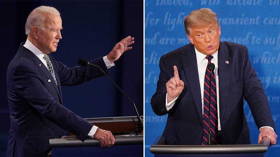 Стало известно, сколько американцев смотрели дебаты Трампа и Байдена