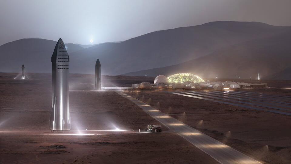 Илон Маск захотел отправить на Марс миллион землян