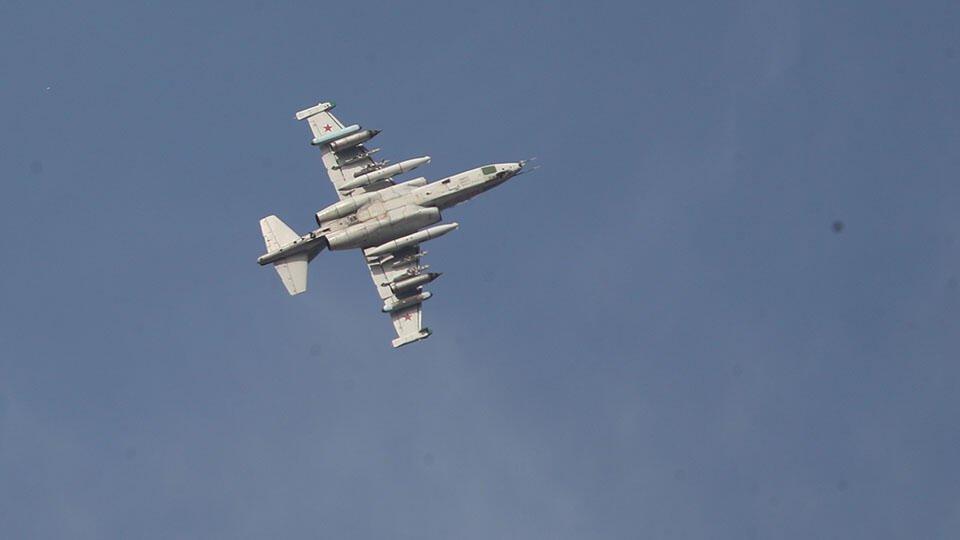 В Армении заявили, что в Карабахе сбит азербайджанский Су-25