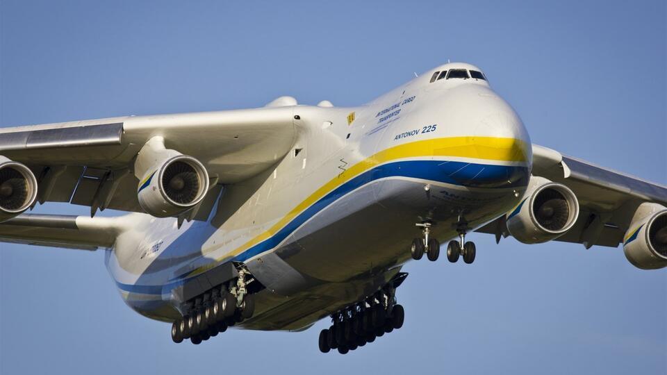 """Украинская """"Мрия"""" начала выполнять авиарейсы для борьбы с COVID-19"""