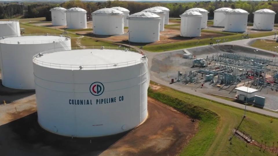 Colonial Pipeline начала процесс перезапуска трубопровода в США