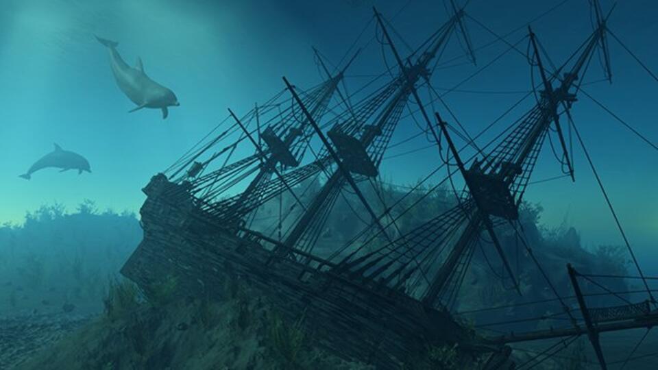В Греции открыли первый в мире подводный музей затонувших кораблей