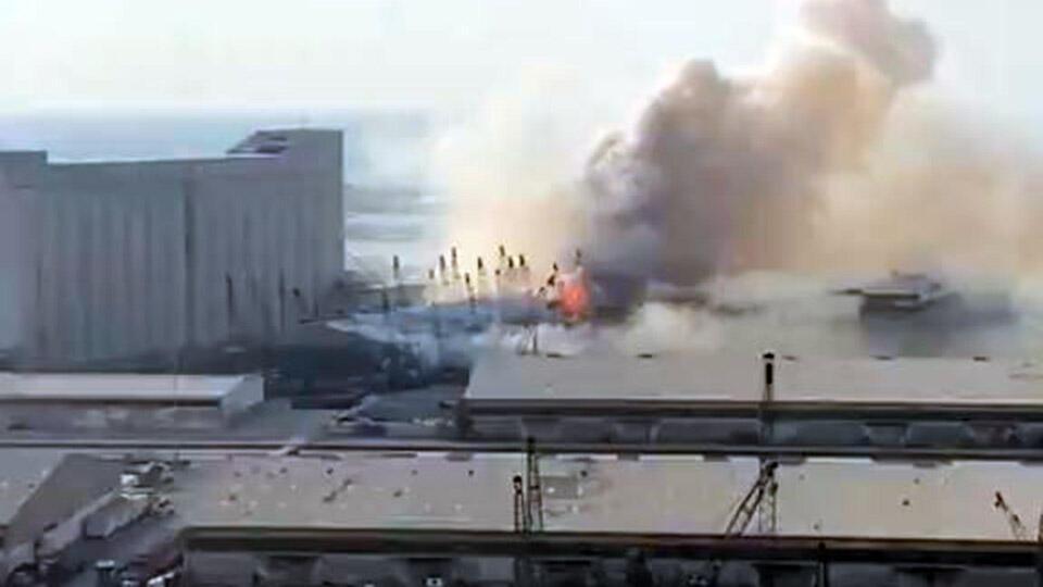 Взрыв в порту Бейрута был равен по силе землетрясению магнитудой 4,5